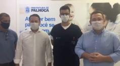 Autoridades de #Palhoça falam sobre a vacinação