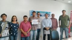 Estudantes emplacam campanha