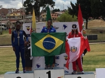 Micaela Mello é ouro no Sul-Americano Sub-23