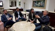 Candidato de Palhoça participa de encontro do Novo
