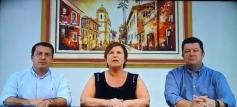 Prefeito recebe representantes de Acip e CDL