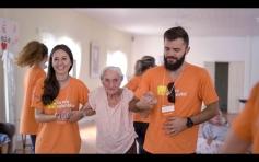 Asilo recebe ação do Itaú Social