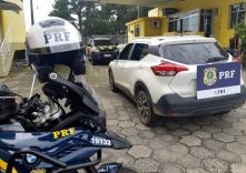 SUV clonado é recuperado em Palhoça