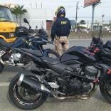 PRF apreende moto com dispositivo antirradar
