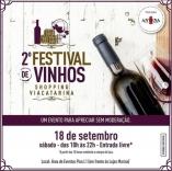 ViaCatarina recebe festival de vinhos