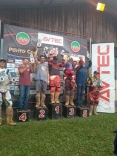 Mascote lidera categoria no velocross