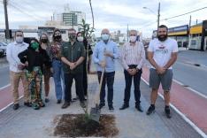 Fundação Cambirela de Meio Ambiente realiza ação do Festival da Primavera