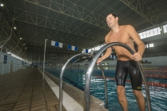 Secco cai na água no Brasileiro de Masters