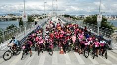 Outubro Rosa: voluntários organizam pedal de conscientização