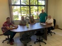 Pakão visita associação para deficientes visuais