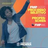 FMP abre processo seletivo para professores