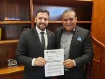 Jean Negão faz solicitações em Brasília
