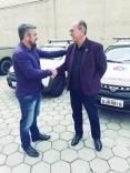 André Xavier acompanha entrega de viaturas