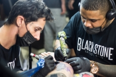 Arena Tattoo Club reúne tatuadores na Arena Petry