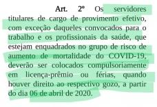 ACSs reclamam de decisão da Prefeitura