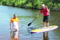 Férias em Palhoça: stand up paddle