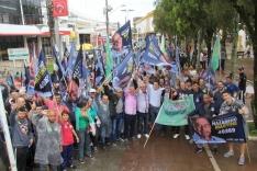 Caminhada de Nazareno Martins reúne apoiadores