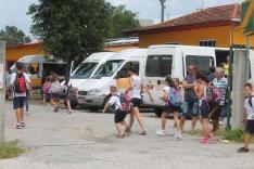 Trânsito alterado em frente à escola Venceslau Bueno