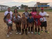 Moraes apoia escolinhas de futebol