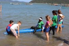 Projeto de canoagem se consolida no Sul