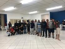 Ação solidária oferece serviços em abrigo