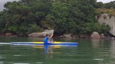Atleta da canoagem busca apoio para o Brasileiro
