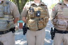 Batalhão aprova uso de câmeras em coletes