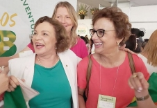 Dirce vai coordenar o Sul no MDB mulher nacional