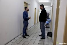 Fabinho faz visita ao posto de saúde central de PH