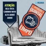 Quintal Limpo segue em março. Veja os bairros