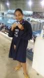 Manu Quint fatura seis medalhas na Unisul