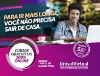 Unisul disponibiliza cursos gratuitos online
