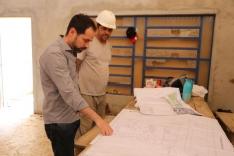 Fabinho segue fiscalizando obras do município