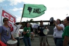 Upes participa de protesto na Capital