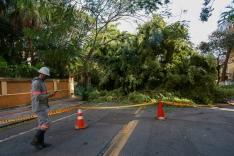 Ciclone: governo de SC decreta calamidade pública