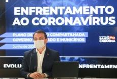 Governador testa positivo para a Covid-19