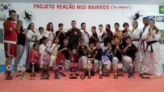 Reação nos Bairros vence copa de taekwondo
